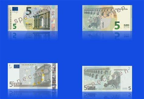 centrale europea sito ufficiale bce ecco la nuova banconota da 5 le differenze