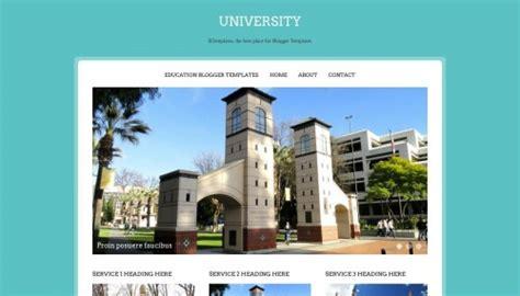 Blogger University | university blogger template btemplates