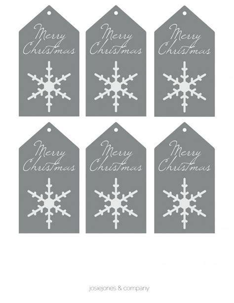 printable snowflake tags free printable gift tags by josiejones christmas gift