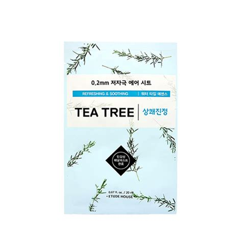 Etude House Therapy Air Mask 0 2mm korean cosmetics etude house 0 2mm therapy air mask tea