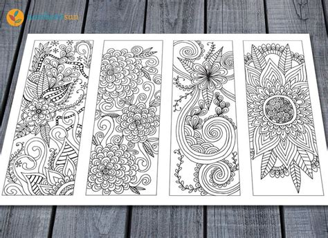 printable doodle bookmarks best 25 printable colouring pages ideas on pinterest