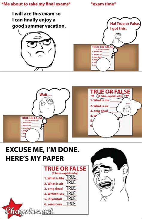 Funny Comic Memes - lol funny meme joke finals chaystar rage comics chaystar