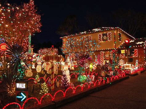 most christmas decorated houses house and home design