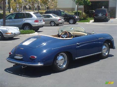 1956 blue porsche 356 speedster recreation 924555 photo