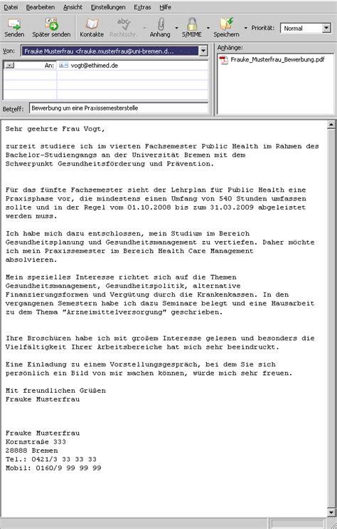 Anschreiben Bewerbung Uni Universit 228 T Bremen Lernmodule