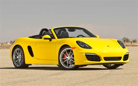 2013 porsche boxster s front photo 1