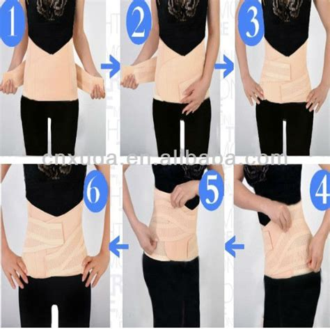 Clothes After C Section by Tummy Slim Post Pregnancy Wrap Postnatal Belt Belly