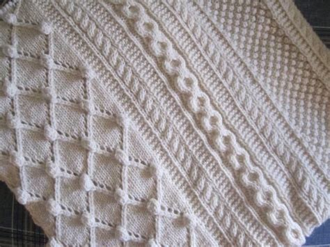 diamond pattern in knitting diamonds and bobbles afghan knitting patterns and