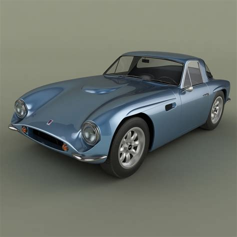 Tvr Model Tvr Griffith Series 200 3d Model Max Obj 3ds Cgtrader