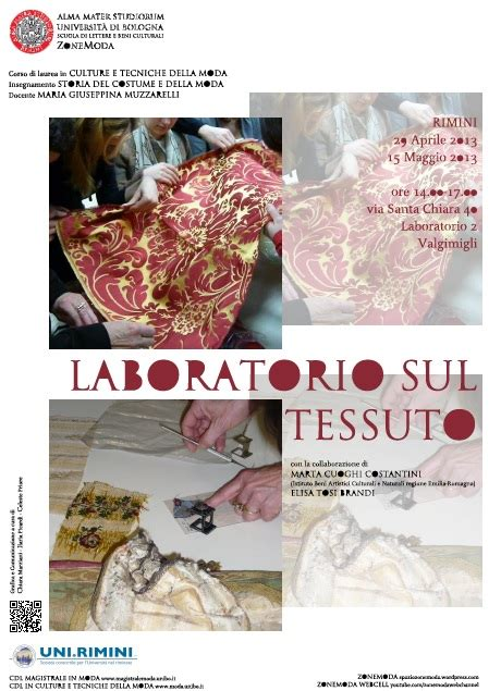scuola di lettere e beni culturali bologna laboratorio sul tessuto marta cuoghi costantini ed elisa