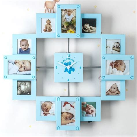 how is my in years my year collage clock for baby boys baby gifts by getting personal
