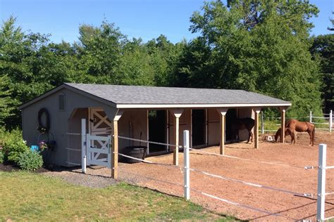 backyard horse barns post beam horse barns run in shed row rancher with