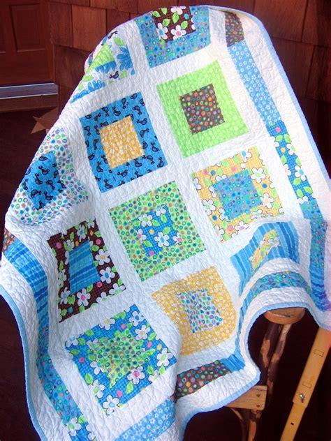 quilt pattern for baby boy on sale moda birdie baby boy or toddler crib quilt pattern