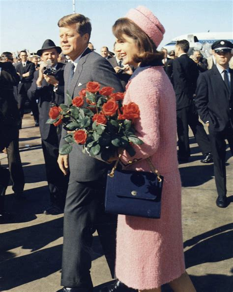 Junior The Jacquelyn Bag by Pink Chanel Suit Of Jacqueline Bouvier Kennedy