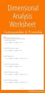 Chemistry Dimensional Analysis Worksheet by Math And Worksheets On