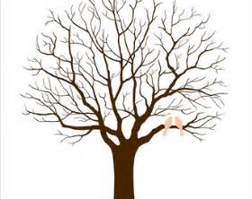wedding tree template clipart best