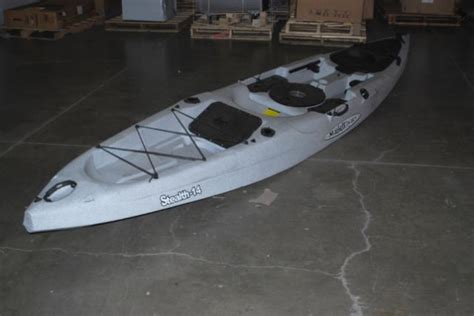malibu kayak stealth 14 malibu 14 4 quot stealth 14 sit on top fishing kayak ebay