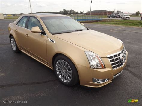 gold cadillac summer gold metallic 2013 cadillac cts 3 6 sedan exterior