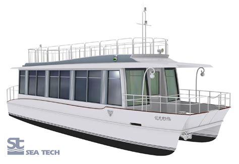 catamaran houseboat design houseboat elan seatech ltd