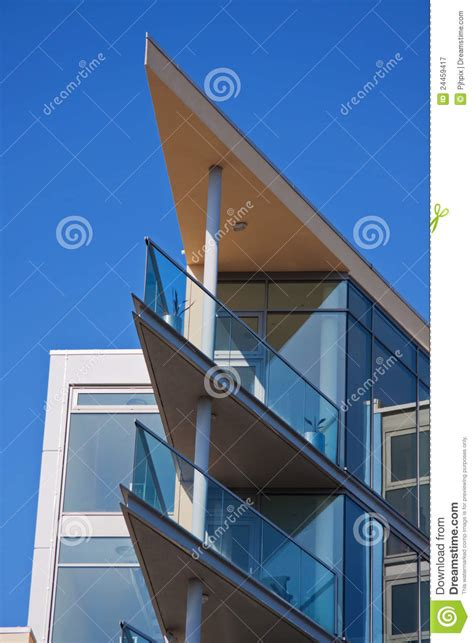 Housing Floor Plans Modern blue sky and acute angles stock image image of futurist