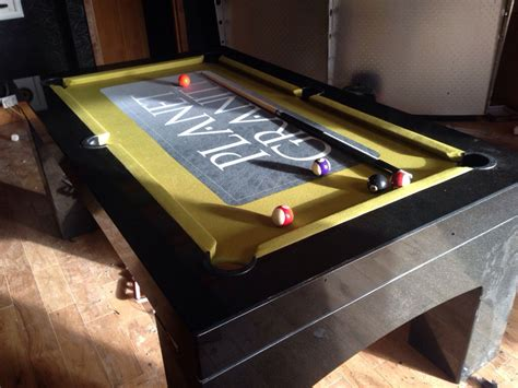 how we made our granite pool table