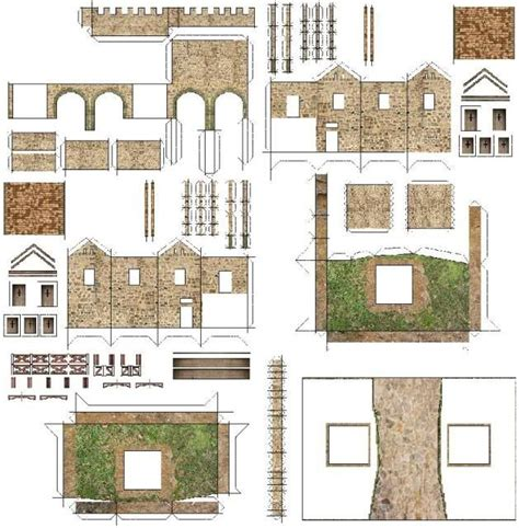 printable roman house photobucket diorama pinterest dioramas papercraft