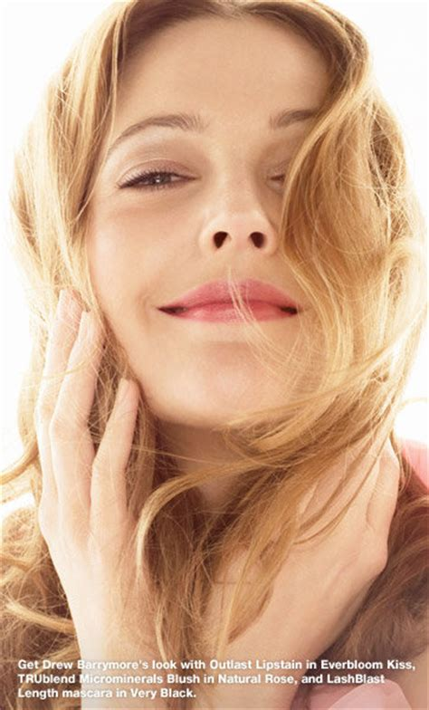 Drew Barrymore Signs With Covergirl Cosmetics by Covergirl Outlast All Day Lipcolor Always