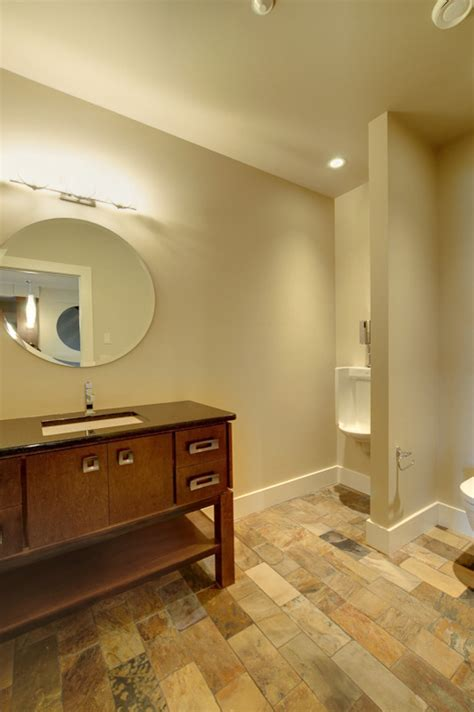 urinals for home Bathroom Contemporary with modern