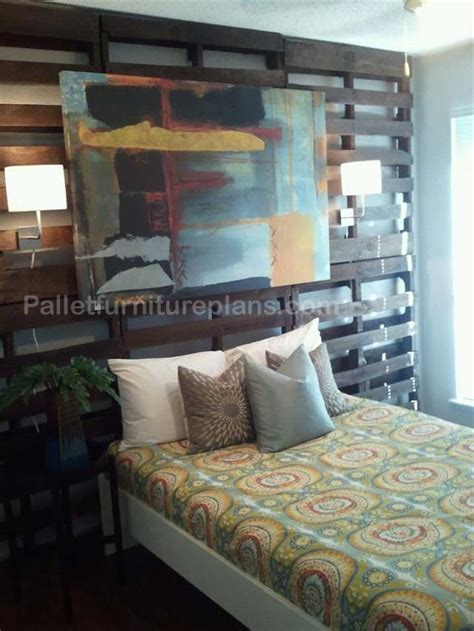 headboard made out of pallets 4 headboards made from wooden pallets pallet furniture plans