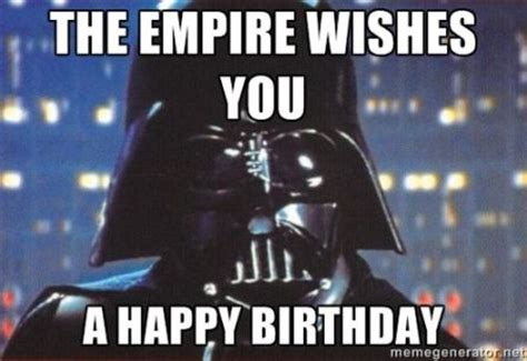 Star Wars Birthday Meme - best starwars happy birthday meme 2happybirthday