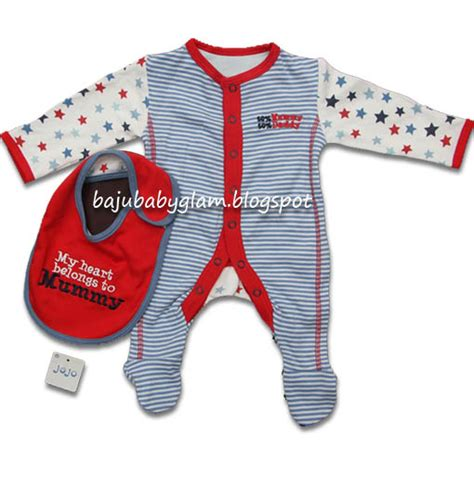 Promo Set Baju Pendek 3 In 1 Baby Motif Cutes baju baby glam promo sale murah sleepsuit baby with bib sold