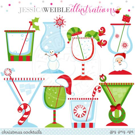 holiday cocktails clipart christmas party cocktail clipart clipground