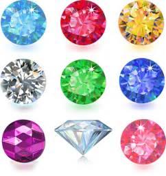 home design free gems colorful gems design vector 04 vector other free download