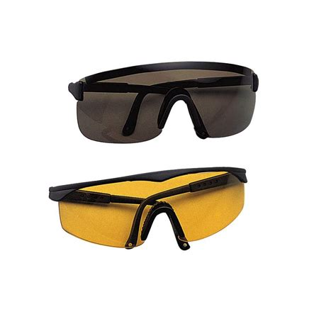 uv protective shooting safety glasses impact resistant