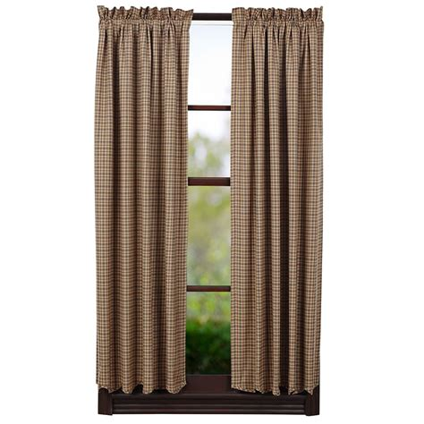 36 curtain panels millsboro lined scalloped short curtain panels 63 quot x 36 quot vhc