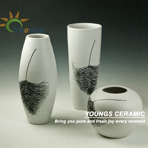 fashion orange ceramic vase home decoration pieces view