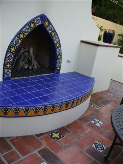 Latin Fireplaces   Mediterranean   Exterior   los angeles