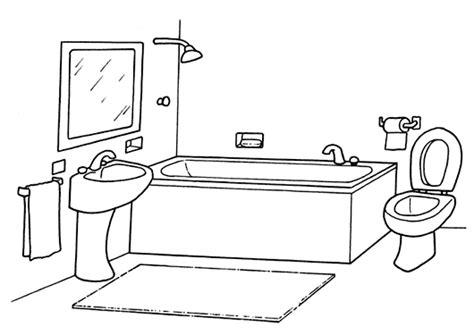 disegno di un bagno midisegni it disegni da colorare per bambini