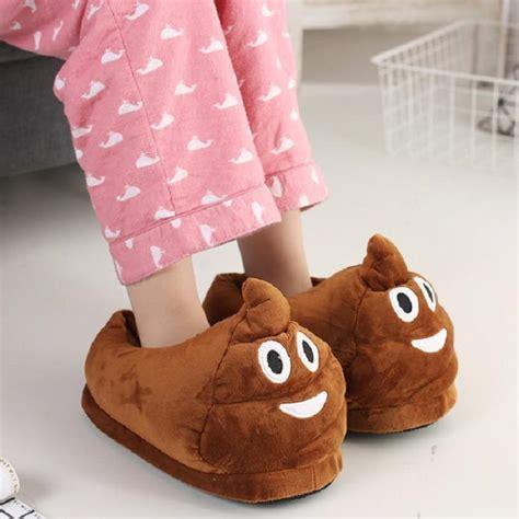 Caca Soft emoji soft slippers iwantitsobad