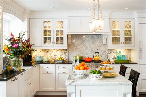Classic White Kitchen Designs | classic white kitchen design by astro ottawa