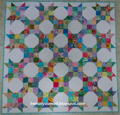 Nine Patch Quilt by Fret Not Yourself Nine Patch Snowball