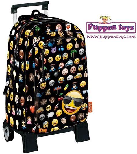 imagenes de mochilas emoji mochila grande emoji con carro perona juguetes puppen toys