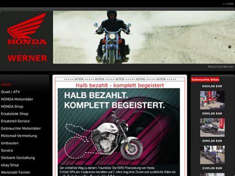 Motorradverleih Bremen by Motorrad Werner In Uhlst 228 Dt Kirchhasel Motorradh 228 Ndler