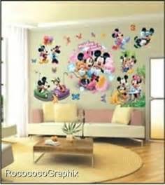 disney wall stickers for kids bedrooms large disney mickey mouse wall stickers children kid s