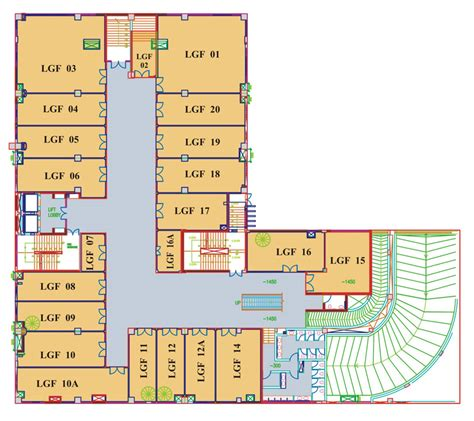 tdi mall chandigarh floor plans