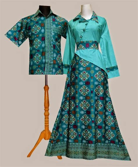 Baju Batik baju dress batik modern cantik model terbaru design bild