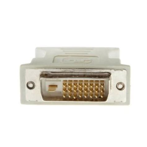 Converter Dvi D To Vga dvi dvi d dual link to vga adapter for hdtv lcd ebay