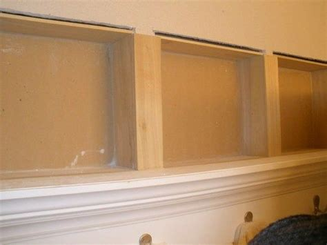 recessed shelf in bathroom wall 25 best ideas about recessed shelves on pinterest recessed housings building a