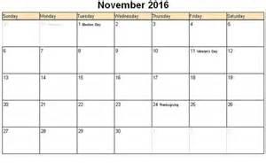 November template november calendar 2016 november november 2016