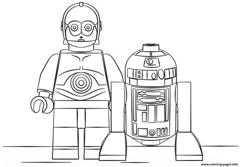 r2d2 coloring pages printable lego r2d2 and c3po coloring pages printable